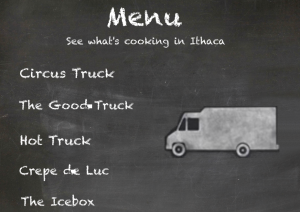 Click here to see what's cooking in Ithaca!